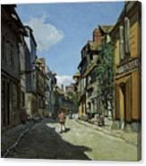 Rue De La Bavole Canvas Print