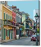 Rue Domaine New Orleans Canvas Print
