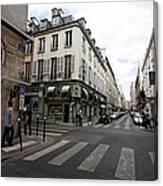 Rue Jacob Paris Canvas Print