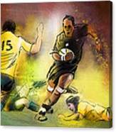 Rugby 01 Canvas Print