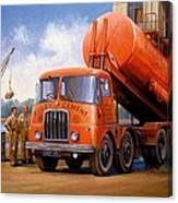 Rugby Cement Thornycroft. Canvas Print