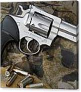 Ruger Security Six Stainless Canvas Print