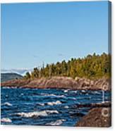 Rugged Lake Superior Coastline Canvas Print