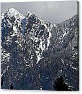 Rugged Mountain Canvas Print