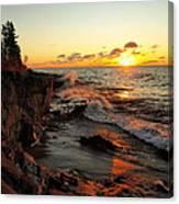 Rugged Shore Fall Canvas Print