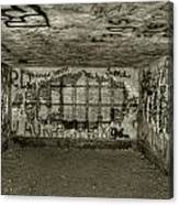 Ruined Bunker Canvas Print