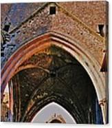 Ruined Church Ireland Canvas Print