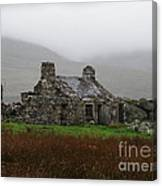 Ruined Cottage Snowdonia Canvas Print