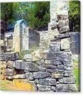 Ruins At Cosley Mill Canvas Print