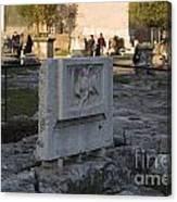 Ruins At The Roman Forum Canvas Print