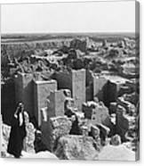 Ruins Of Babylon Canvas Print
