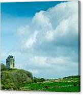 Ruins Of Irish Castle Canvas Print
