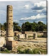 Ruins Of Paestum Canvas Print
