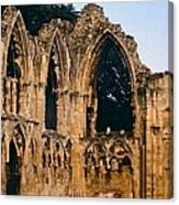 Ruins Of St. Mary's Abbey Canvas Print