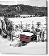 Ruisseau Meech Bridge Canvas Print