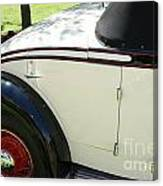 1934 Bruster Rumble Seat Access Canvas Print