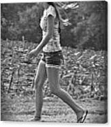 Run And Play Canvas Print