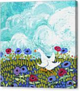 Run Duck Run Canvas Print
