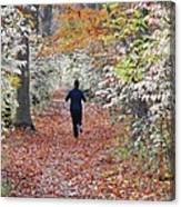 Run Through The Woods Canvas Print