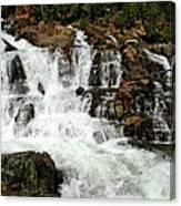Running Water Glen Alpine Falls Canvas Print