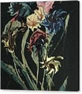 Runway Flowers Canvas Print