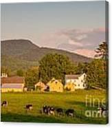 Rupert Vermont Dairy Farm Canvas Print