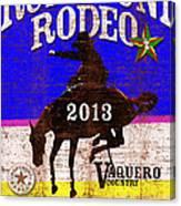 Rupununi Rodeo Canvas Print