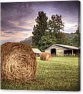 Rural American Farm Canvas Print