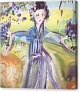 Rural Geisha Canvas Print