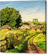 Rural Home Canvas Print