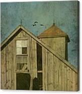 Rural Iowa Barn 5 Canvas Print