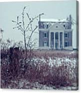 Rural Mansion Canvas Print