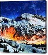 Rural Radiance  Canvas Print