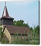 Rural Roadside Church Canvas Print