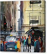 Rush Hour 2 - Chicago Canvas Print