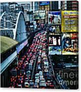 Rush Hour Manila Philippines Canvas Print