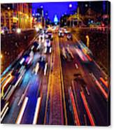 Rush Hour Traffic On North Capitol Show Canvas Print