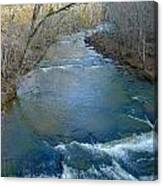 Rushing Vickery Creek Canvas Print