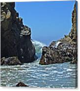 Rushing Wave - Big Sur Canvas Print