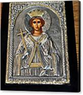 Russian Byzantin Icon Canvas Print