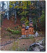 Russian Chapel - Vrsic Pass - Slovenia Canvas Print