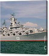 Russian Cruiser Moskva Canvas Print