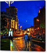 Russian Evening Canvas Print