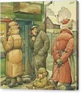 Russian Scene 07 Canvas Print