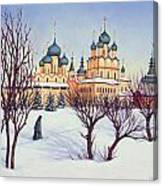 Russian Winter Canvas Print
