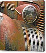 Rust ... The Other Color Canvas Print
