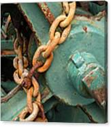 Rust And Decay Canvas Print