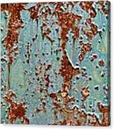 Rust And Paint Canvas Print