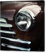 Rust-colored Chevy Canvas Print