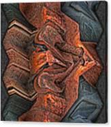Rust Flow Canvas Print